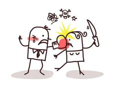 bagarre de couple